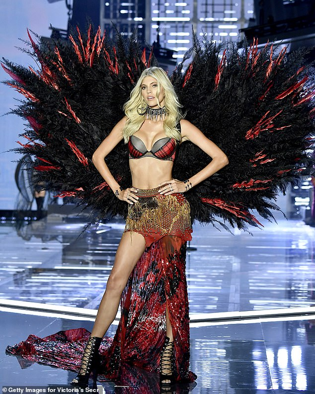 Runway star: Devon got her start as a model in 2008 when she was just 14. She became an in demand catwalk model and a regular in the Victoria's Secret Fashion Show from 2013 onwards