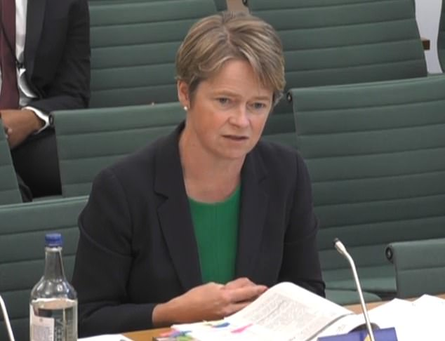 Baroness Dido Harding todayinsisted the £37billion NHS Test and Trace scheme has been a success, while speaking at the Public Accounts Committee