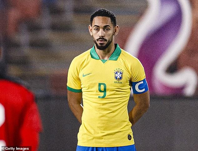 Hertha Berlin striker Matheus Cunha was prolific for Brazil's pledges and is a target in Leeds