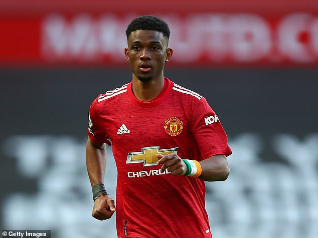 Amad Diallo has only made a handful of appearances for Manchester United since joining