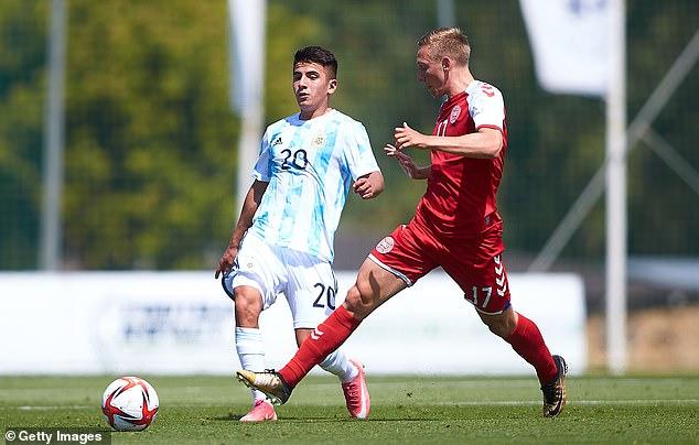 Velez Sarsfield's attacking midfielder Thiago Almada is the next big thing in Argentina