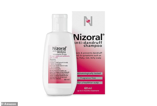 Nizoral has been formulated with Ketoconazole, a NHS-recommended ingredient for anti-dandruff shampoos, which effectively relieves and prevents the symptoms of dandruff