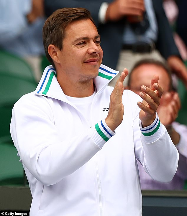 Two-time Grand Slam champion Tracy Austin praised Pliskova's coach Sascha Bajin (above) for getting her and others to the peak of their careers
