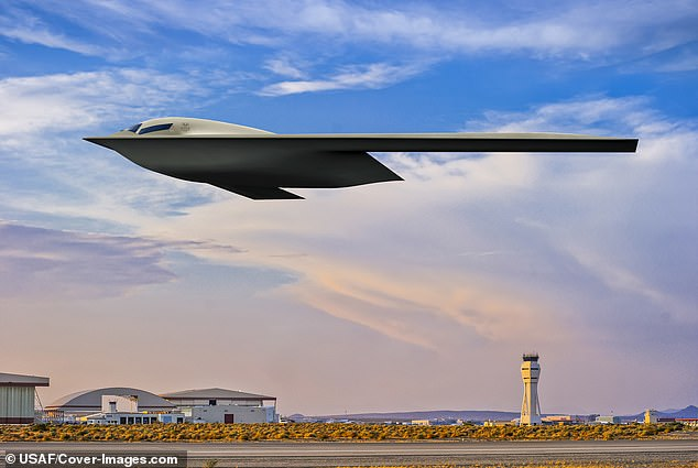 The U.S. Air Force has released a new visualization of the secretive B-21 Raider stealth bomber Tuesday. This is only the third artist's graphic of the aircraft designed to perform long range conventional and nuclear missions
