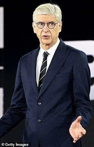 Arsene Wenger was also left baffled as to why VAR didn't intervene