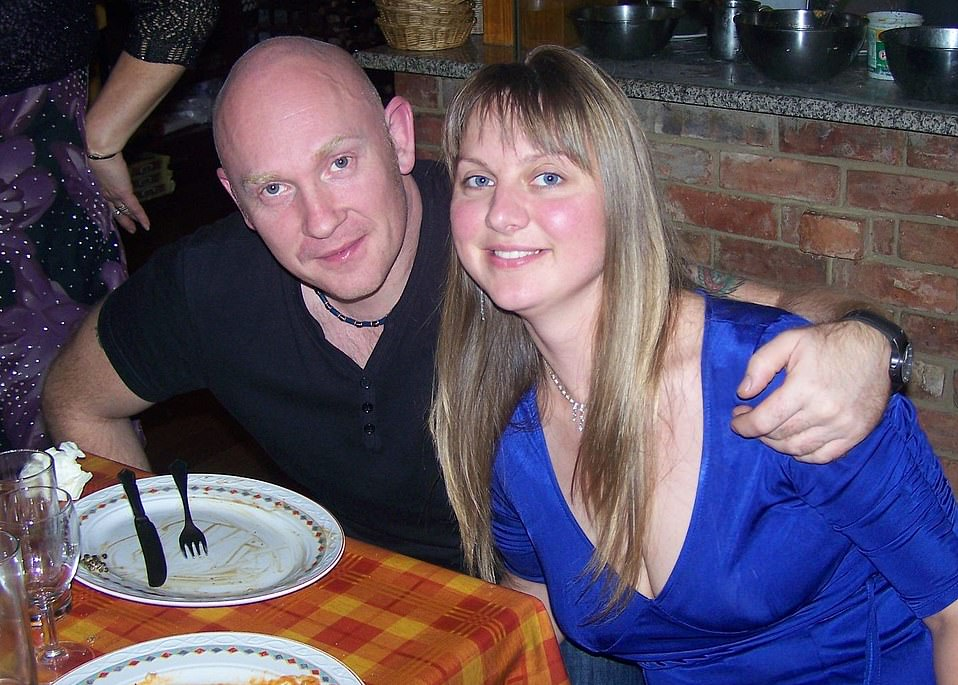 As Wayne Couzens today pleaded guilty to snatching Sarah Everard, 33, off the street and then raping her, his wife of 15 years, Elena (pictured together), 38, says she is still picking up the pieces of her shattered life