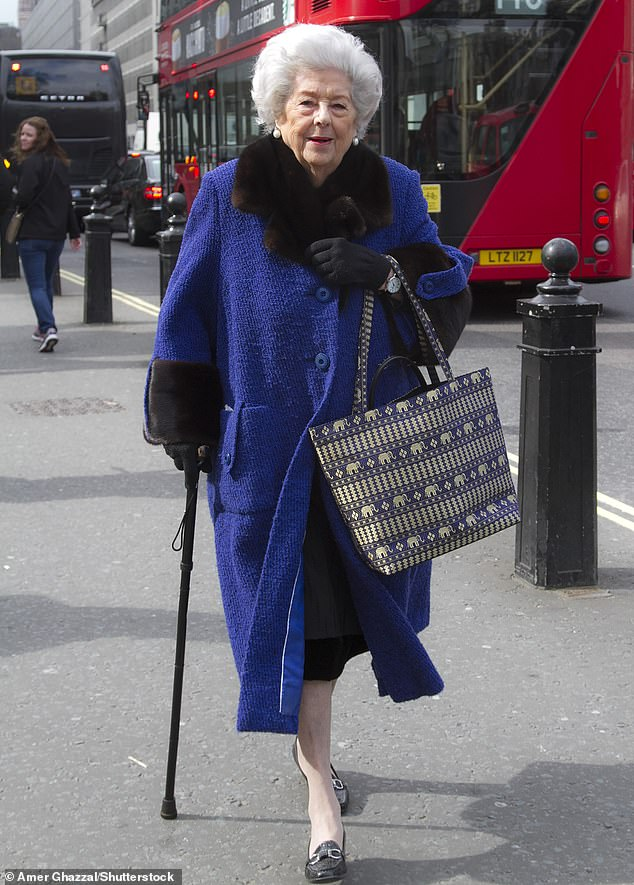 It comes after The Mail on Sunday revealed Betty Boothroyd (pictured in March 2016) was one of 60 peers investigated for not completing the course