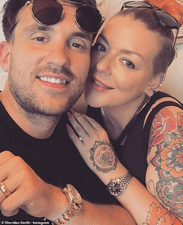 Breakup: The star is reportedly 'devastated' by her split from fiancé Jamie Horn