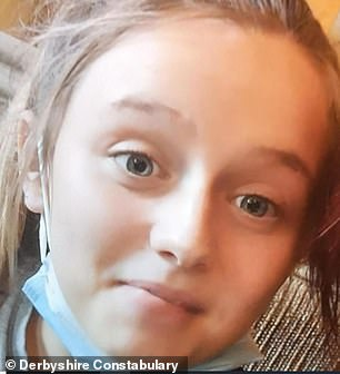 Destiny Sturgess-Green, 13, has shoulder-length blonde hair, a slim build, and is 5ft 1in tall