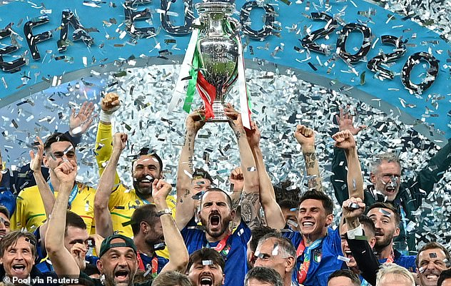 Italy beat England on penalties in the Euro 2020 final at Wembley on Sunday night
