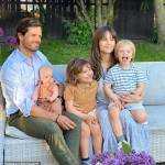 Princess Sofia and Prince Carl Philip of Sweden share first family portrait featuring Prince Julian 💥👩💥