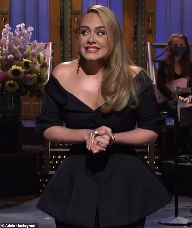 Single! Adele shut down romance rumours as she told fans she's a '(single) cat lady,' in an Instagram caption alongside a snap of herself on SNL last year