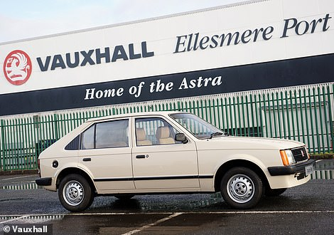 The first-generation Astra