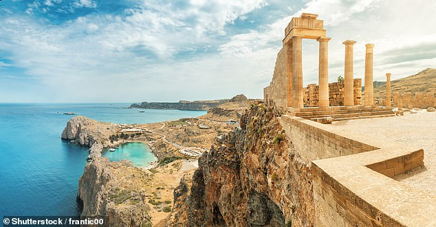 Travellers to Rhodes can stay at a 3 star B&B for seven nights with a cost of £176pp in July