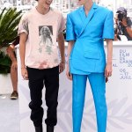 Timothée Chalamet and Tilda Swinton lark around at The French Dispatch photocall 💥👩💥