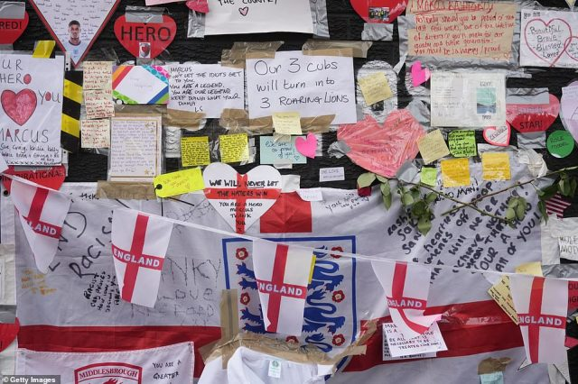Greater Manchester Police called the defacing of the Rashford mural a 'racially aggravated' act of vandalism as the community rallied round