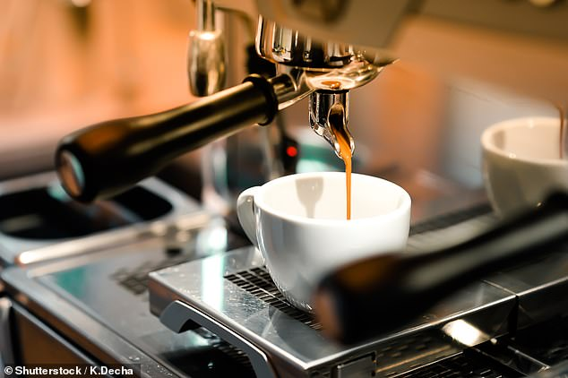 Coffee increases alertness because it blocks the ADP receptors which help make us sleepy(stock image)