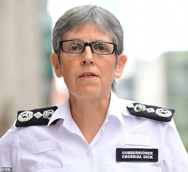Dame Cressida Dick wishes to continue in her role despite a string of controversies and the Wembley security scandal