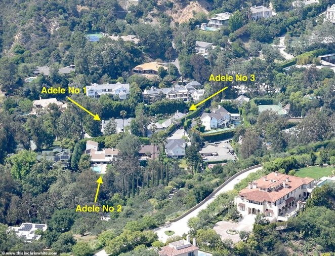 Adele buys THIRD mansion in Beverly Hills