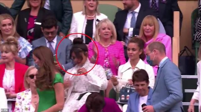 It's possible Priyanka didn't see the Cambridges enter the Royal Box, or that she wasn't aware of the etiquette to applaud, however several royal fans suggested her abstaining from clapping was intentional
