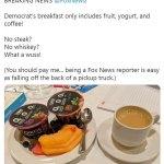 Runaway Texas Democrat trolls Fox News with Twitter food posts amid attempt to block voting bills 💥👩💥