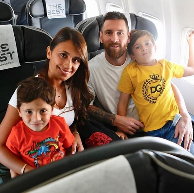 It is not known whether Antonella and their three children were present during the incident