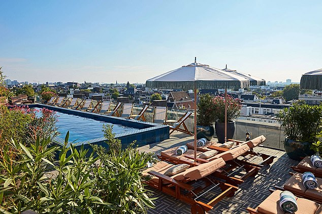 Amsterdam: Since opening the first Soho House in 1995, the empire has grown to 28 houses around the world including this outpost in the Dutch capital