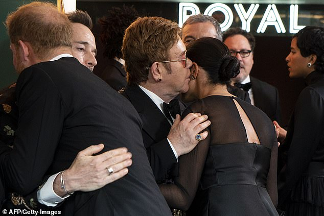 Elton was good friends with Harry's late mother Princess Diana, and he and the Duke of Sussex have maintained a close relationship; he and David attended the Sussexes' May 2018 wedding