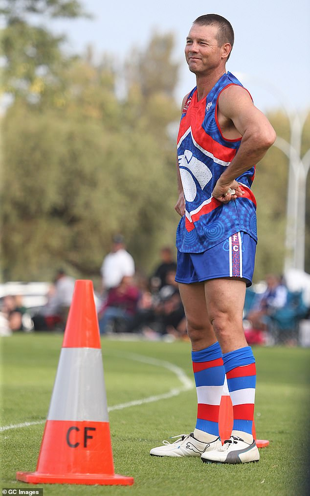 It might just be his first season with the Bulldogs, but he's quickly become 'one of the boys' among his teammates