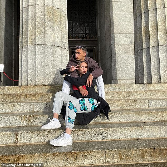 Stack had been permitted to attend his grandfather's funeral for 'cultural healing' as long as he agreed to spend 14 days isolating at an address in Northam, a town northeast of Perth