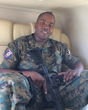 Bed-ford Claude, a Haitian prosecutor, told The Washington Post he had requested the 'interrogation' of Dimitri Herard