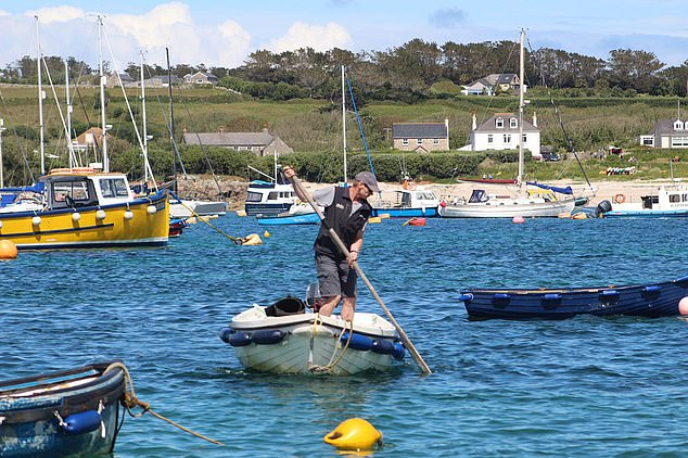 Several small pleasure and commercial boats have been sunk or capsized by his antics while inflatable dinghies have been punctured by his tusks