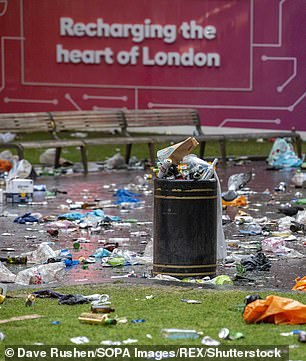 And bins could also be left to rot in the street because there are not enough staff available to self-isolate