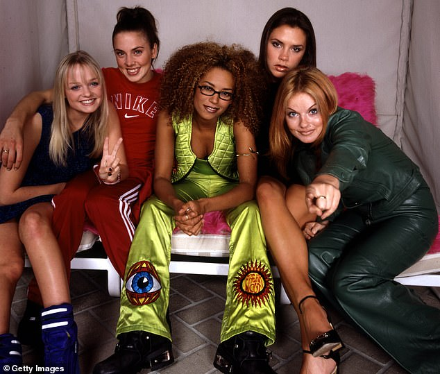 Songwriter Peter Kirtley is hoping to shake up the music industry with a futuristic version of the Spice Girls (pictured here inFebruary 1997)
