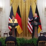 Merkel says Biden meeting was 'friendly' after being asked to compare him to Trump 💥👩💥