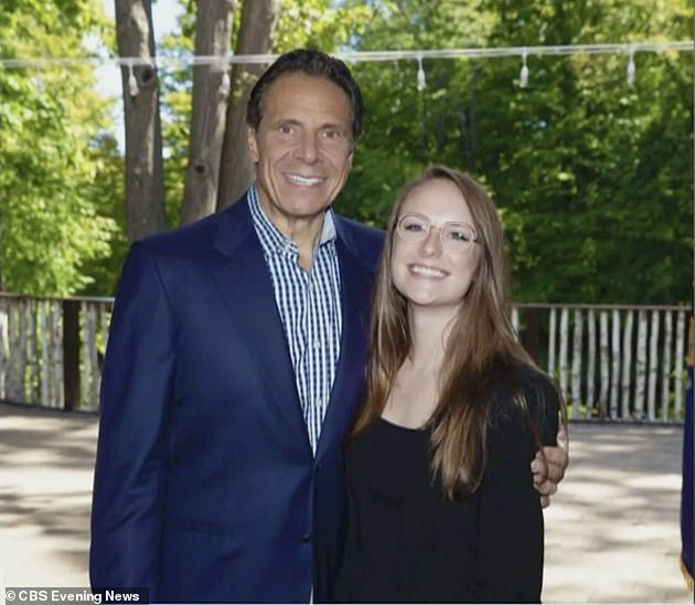 Charlotte Bennett, 25, accused Cuomo of propositioning her in his office last June