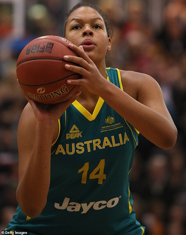 Australian basketball star Liz Cambage has confirmed she won't play in the Tokyo Olympics