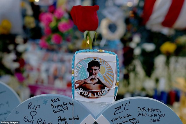 People have written messages to the victims of the Miami condo collapse as seen on Thursday