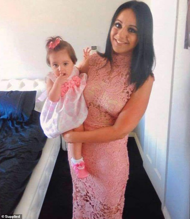 Sam Minniti, 34, (pictured with daughter Scarlett) was shocked at the reaction of Aussie mums when she promoted her brother's ingenious toy bike in several Facebook groups