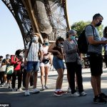 Eiffel Tower reopens after nine-month closure due to Covid - the longest period since WWII 💥👩💥