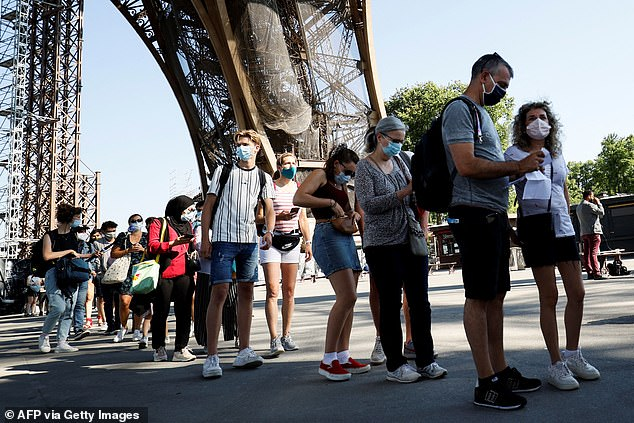 The world's most-visited paid monument, which attracts some 7 million tourists each year, will be accepting visitors on a limited basis