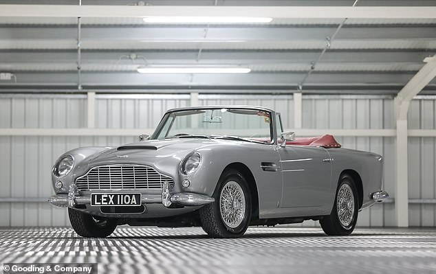 Only 123 convertible DB5s were ever created. Given the model is already steeped in heritage, a drop-top version in this condition was surely worth the six-figure fee the winning bidder paid