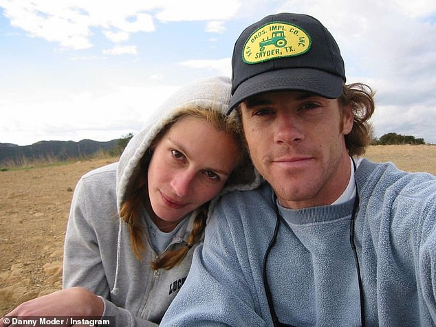 Family:Notting Hill star Julia shares twin daughter Hazel and son Phinnaeus, as well as son Henry, 14, with husband Daniel