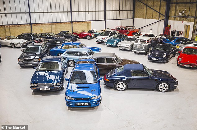 Classic cars in demand:The average amount forked out on collectible vehicles sold at UK auctions in the first six months of 2021 was £45,648 - that's up from £38,984 last year, new figures show