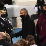 Mark Milley told Michelle Obama 'no one has a bigger smile today than I do' at Biden's inauguration 💥👩💥