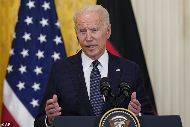 President Joe Biden said he is considering ways to restore internet access to the people of Cuba after government disabled it