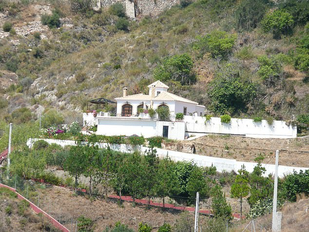 Townley and her Chilean husband Roberto had first purchased their plot above Salobrena on the Costa Tropical in Granada in 2002