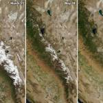 NASA before-and-after photos from space show devastating effects of California's record mega-drought 💥👩💥