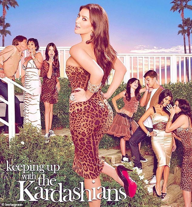 Veteran: Caitlyn, who started her 14-day mandatory quarantine at the hotel, is no stranger to reality TV, having appeared on Keeping Up With the Kardashians since 2007. Caitlyn is pictured on the far left, so that she was known as Bruce Jenner and that she lived as a male