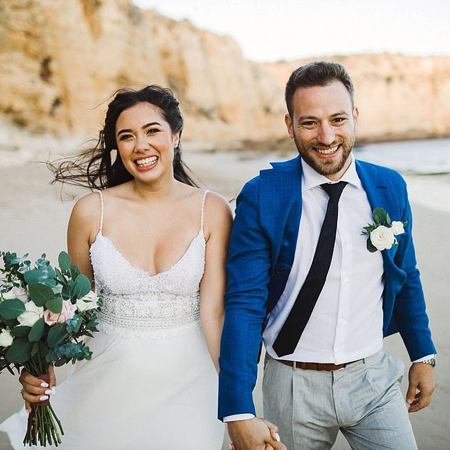 Caroline and Babismarried on a secret Algarve holiday in July 2019, in a quiet beach ceremony. David recalls being 'impressed' by Babis when first meeting him
